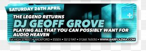 DJ NIGHT PARTY - Brand Service Display Advertising Web Banner PNG