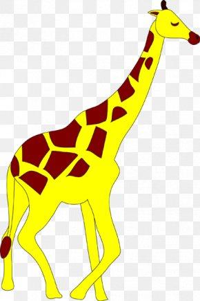 Animal Illust - Giraffe Deer Even-toed Ungulates Clip Art PNG