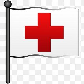 Red-Flag Cliparts - American Red Cross White Flag Red Flag Clip Art PNG