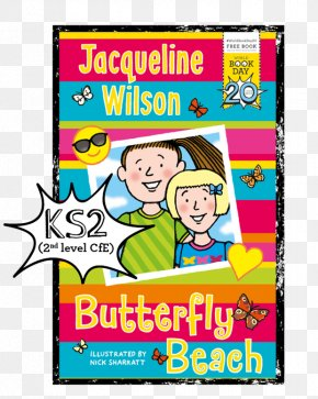 World Book Day - Jacqueline Wilson World Book Day Butterfly Beach Book Review PNG