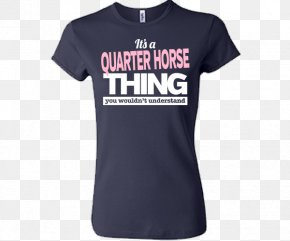 Quarter Horse - T-shirt Sleeve Sweater Clothing PNG