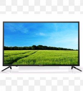 Television LED - LED-backlit LCD 1080p High-definition Television Television Set PNG