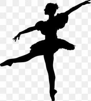 Silhouette - Ballet Dancer Silhouette Hip-hop Dance PNG