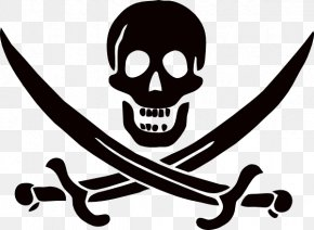 Jolly Roger - Piracy Clip Art PNG