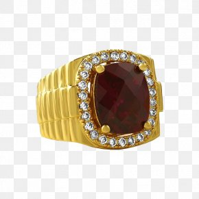 Tyrant Ring - Ring Gold Jewellery Ruby Pendant PNG