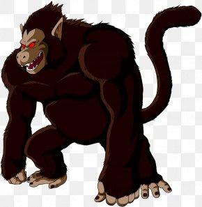 Gorilla - Gorilla Goku Monkey D. Luffy Master Roshi Dragon Ball Z: Budokai Tenkaichi 3 PNG