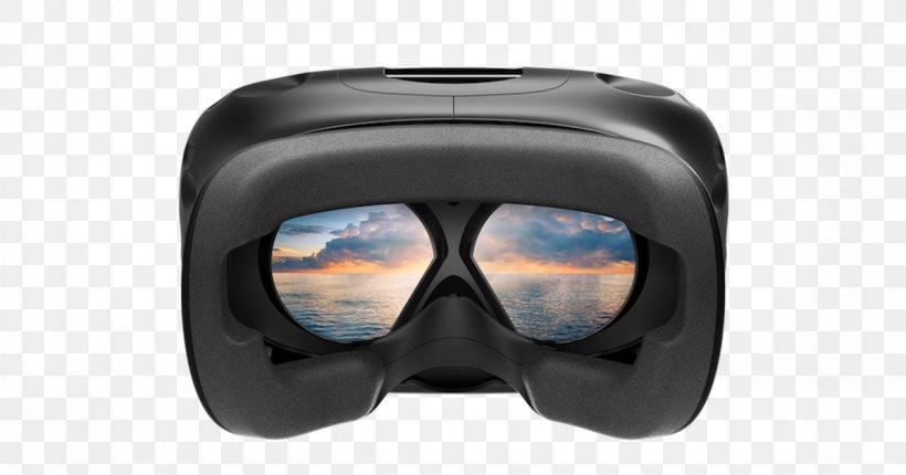 HTC Vive Virtual Reality Headset Oculus Rift, PNG, 1200x630px, Htc Vive, Consumer Electronics, Diving Mask, Eyewear, Game Download Free