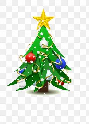 Christmas Tree - Christmas Tree Drawing Christmas Ornament PNG