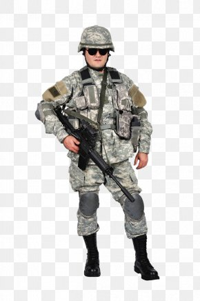 Soldiers Armed With Guns And Sunglasses - Soldier Infantry Stock Photography PNG
