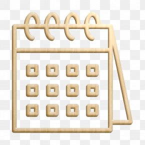 Abacus Toy - Calendar Icon Travel Icon PNG
