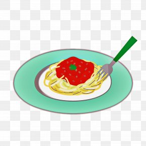 Cutlery Dishware - Food Dish Cuisine Spaghetti Tableware PNG