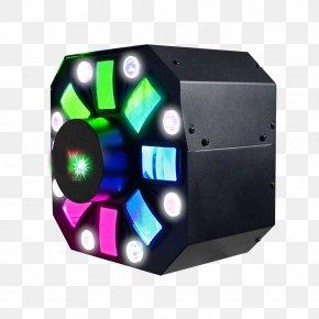 Led Stage Lighting Spotlights Particles - DJ Lighting DMX512 Disc Jockey PNG
