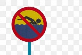No Swimming - Swimming Swim Cap Icon PNG