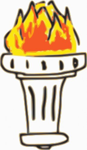 Fire Flames Clipart - Olympic Games 2016 Summer Olympics Torch Relay Clip Art PNG