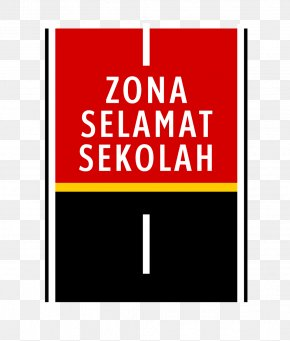 Road - Road Surface Marking Indonesia School Zone Traffic Sign PNG
