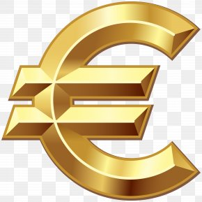 Euro Sign Clip Art - Euro Sign Currency Clip Art PNG