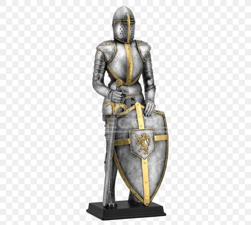 Middle Ages Knight Statue King Arthur Sculpture, PNG, 733x733px, Middle Ages, Armour, Bronze, Bronze Sculpture, Classical Sculpture Download Free