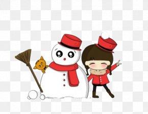 Winter Snowman - Snow Tire Winter Snowman Snowflake PNG