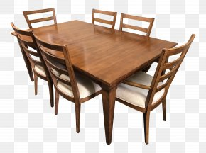 Table - Table Wing Chair Furniture Dining Room PNG