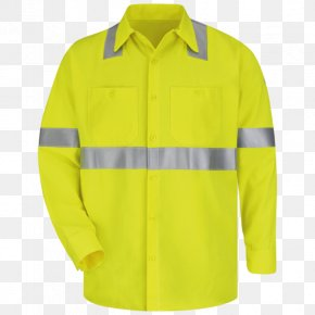 T-shirt - T-shirt High-visibility Clothing Workwear Personal Protective Equipment PNG