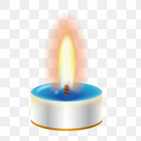 White Candle Vector Material - Candle Euclidean Vector Flame PNG