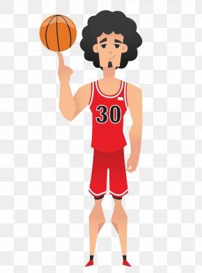 Cartoon Basketball Player - NBA Basketball Player Cartoon PNG