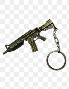 Machine Gun - Airsoft Machine Gun Firearm Weapon Key Chains PNG