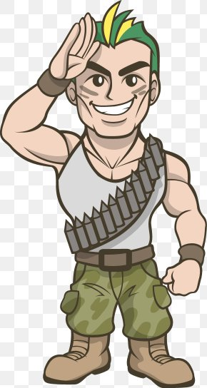 Soldier Saluting Cliparts - Dalfard Rural District Soldier Clip Art PNG