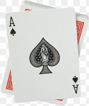 Joker - Hearts Ace Of Spades Playing Card PNG