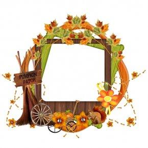 First Day Of Summer Frame Autumnal Equinox - Picture Frames Floral Design Thanksgiving Basket Image PNG