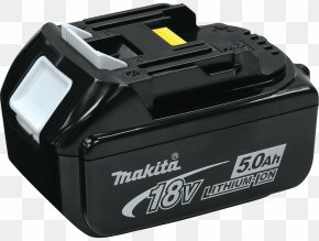 Lithium-ion Battery - Battery Charger Lithium-ion Battery Makita Electric Battery Cordless PNG