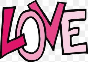 Love Text - Love Heart Symbol Clip Art PNG