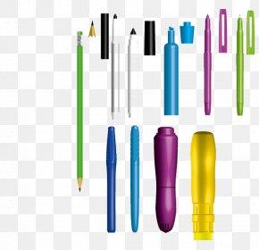 Pen - Paper Pen Stationery Euclidean Vector PNG