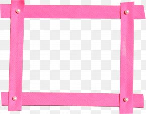 Pink Photo Frame - Picture Frames PNG