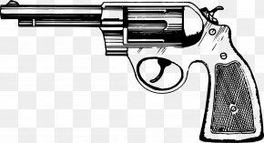 Handgun - Revolver Handgun Pistol Clip Clip Art PNG