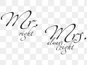 Woman - Wall Decal Mr. Mrs. Woman Sticker PNG