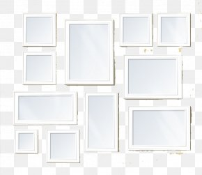 White Frame - Floor Picture Frame Square, Inc. PNG