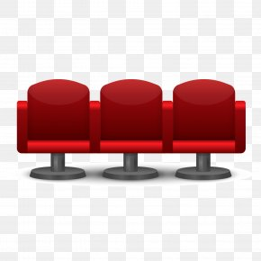 3 Theater Seat Vector Material - Cinema Chair Royalty-free Seat PNG