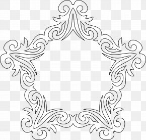 Line Art - Decorative Arts Line Art Clip Art PNG