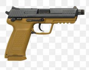Hand Gun - Firearm Heckler & Koch HK45 .45 ACP Heckler & Koch USP PNG
