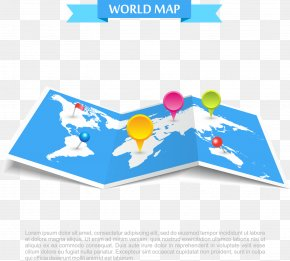 Vector Map - Globe World Map Vector Map PNG