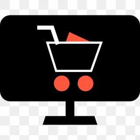 Computer Shopping - Laptop E-commerce Computer Monitors Clip Art PNG