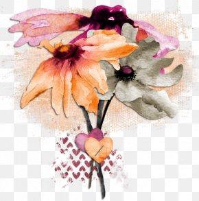 Watercolor Flowers - Watercolor: Flowers Painting Wallpaper PNG