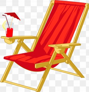 Vector Vacation Chair - Chair Beach Auringonvarjo PNG