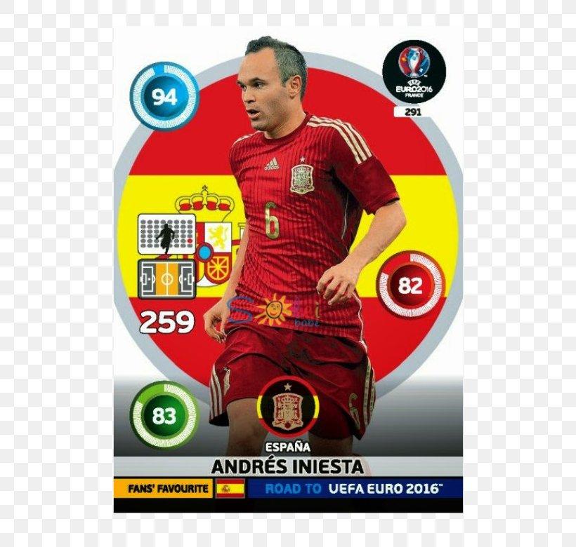 Andres Iniesta Fans Favoutite Panini Road to UEFA EURO 2016-291