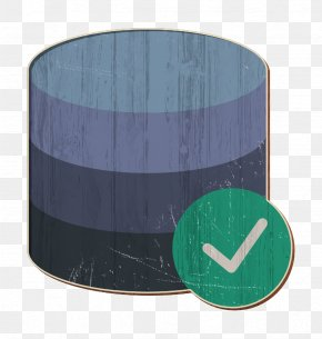 Turquoise Teal - Database Icon Server Icon Interaction Assets Icon PNG