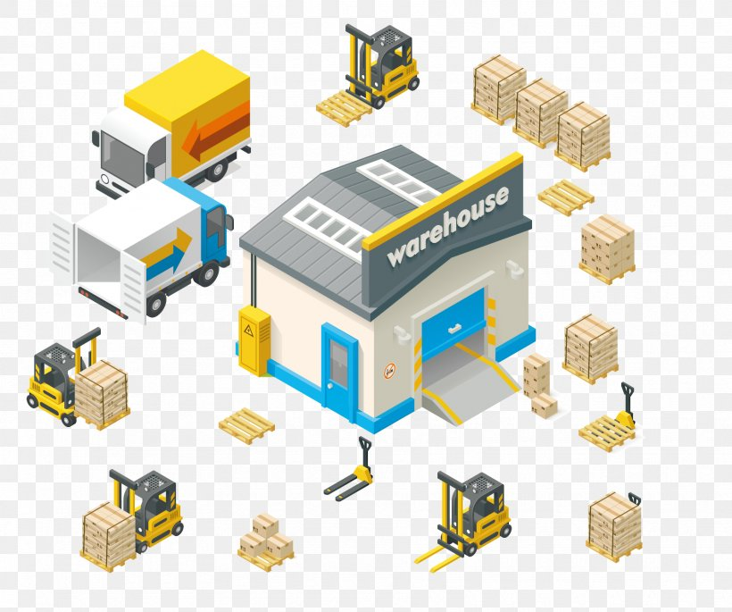 Warehouse Royalty-free Euclidean Vector Stock Illustration, PNG, 1765x1476px, Warehouse, Distribution Center, Industry, Logistics, Machine Download Free