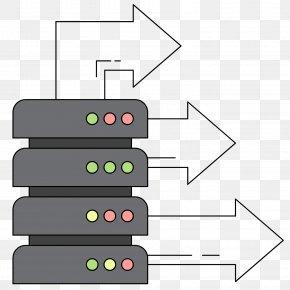 Vector Cartoon Internet Server - Internet Server Download PNG