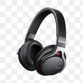 Black Headphones Image - Sony MDR-V6 Headphones Bluetooth Wireless Headset PNG