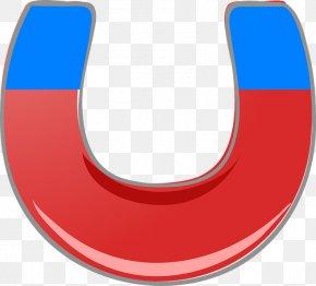 Red Billboards - Craft Magnets Horseshoe Magnet Magnetism Clip Art PNG